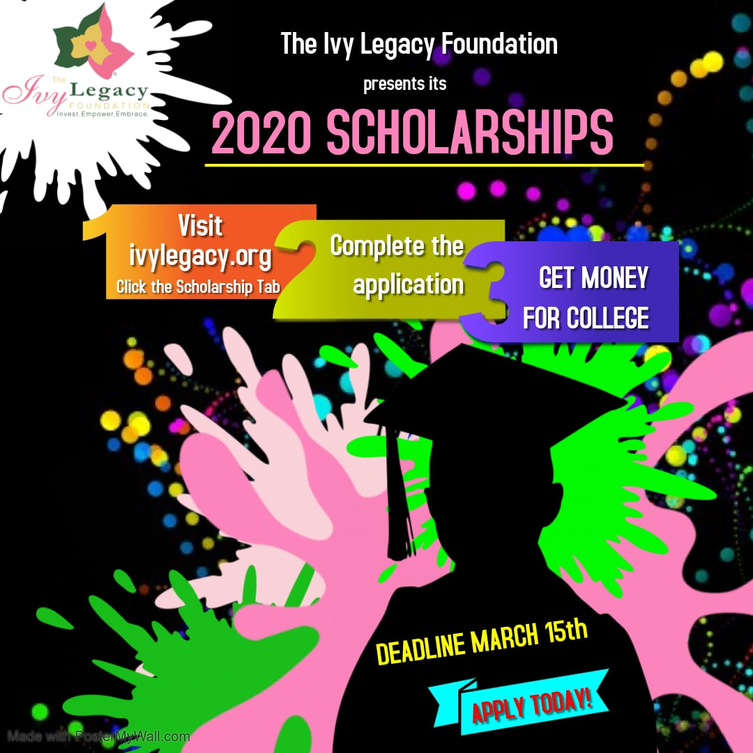 2020 Scholarship Flyer - Made with PosterMyWall (1 ...